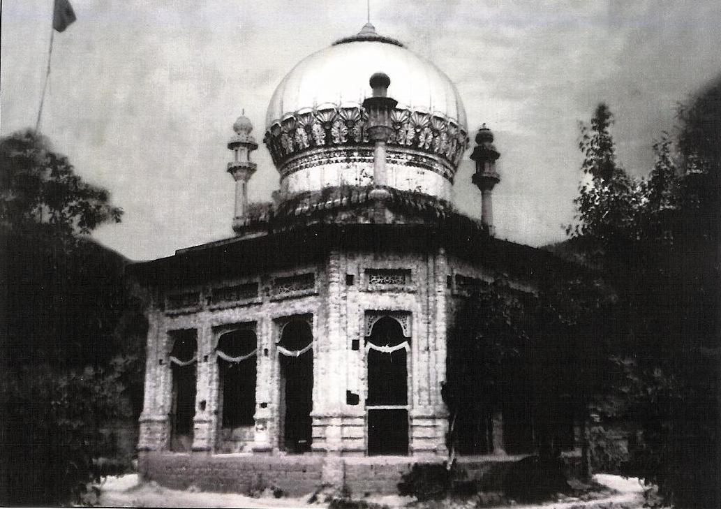 Old Picture of the Old Blessed Mazar (Tomb) Of Baba Ji Sarkar RA